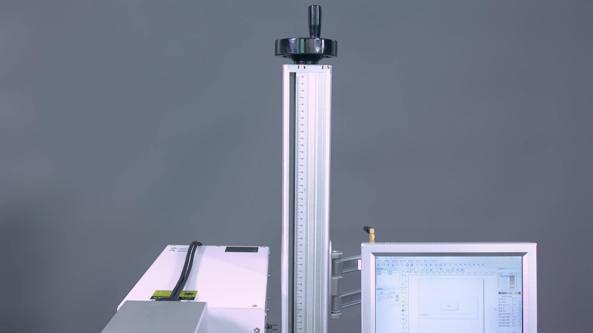 O Marcador do laser 3W 5W UV Fibra De Máquina de Marcação A Laser para Precisão Eficaz Marcação