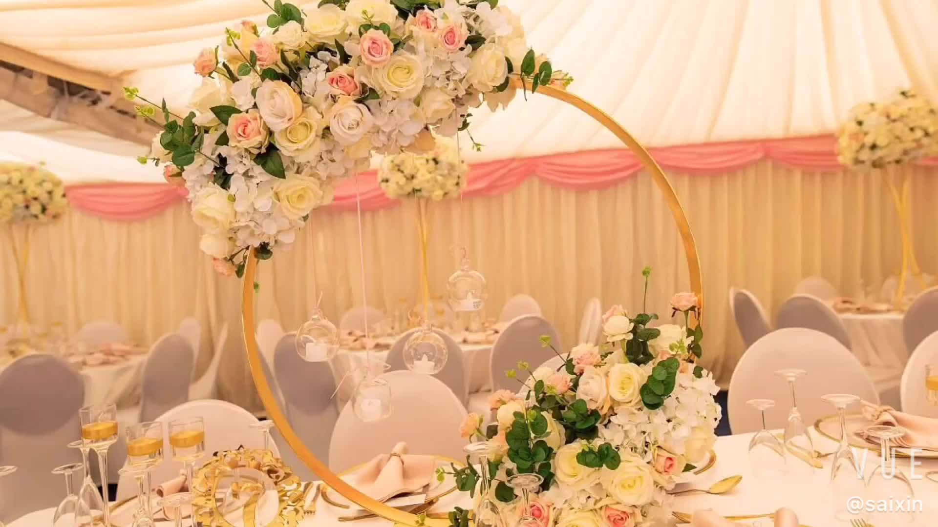 Hot Sell Wedding Centerpiece Candelabra Flower Stand - Buy Wedding ...