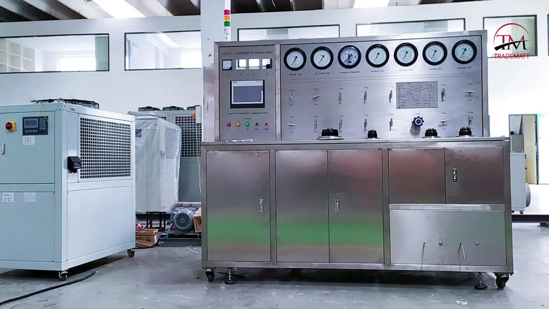 CE Certificado ASME 5 + Máquina de Extração Com Fluido Supercrítico Co2 1L/Equipamentos