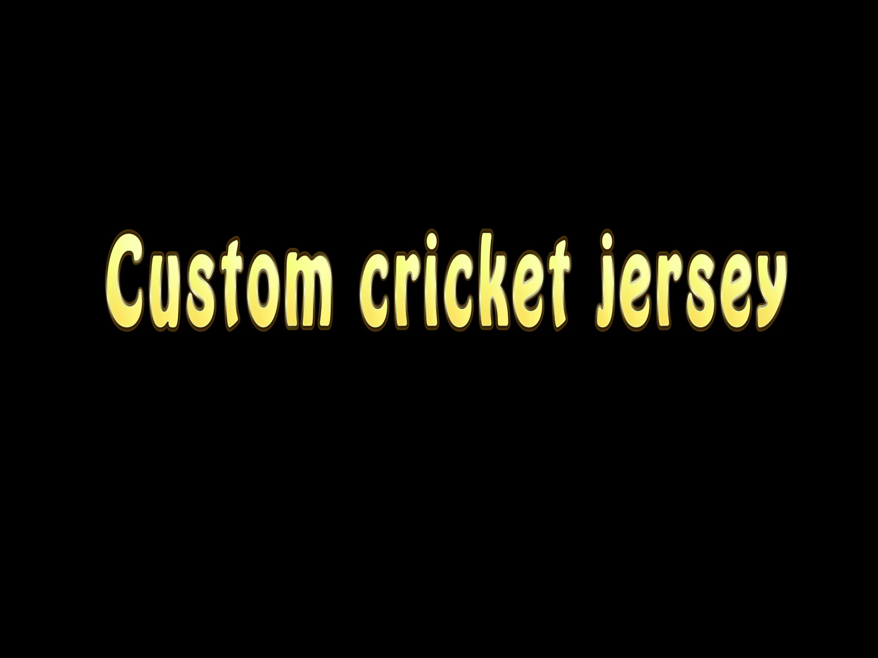 Yeni zelanda spor forması yeni model süblimasyon en iyi sarı kriket forması