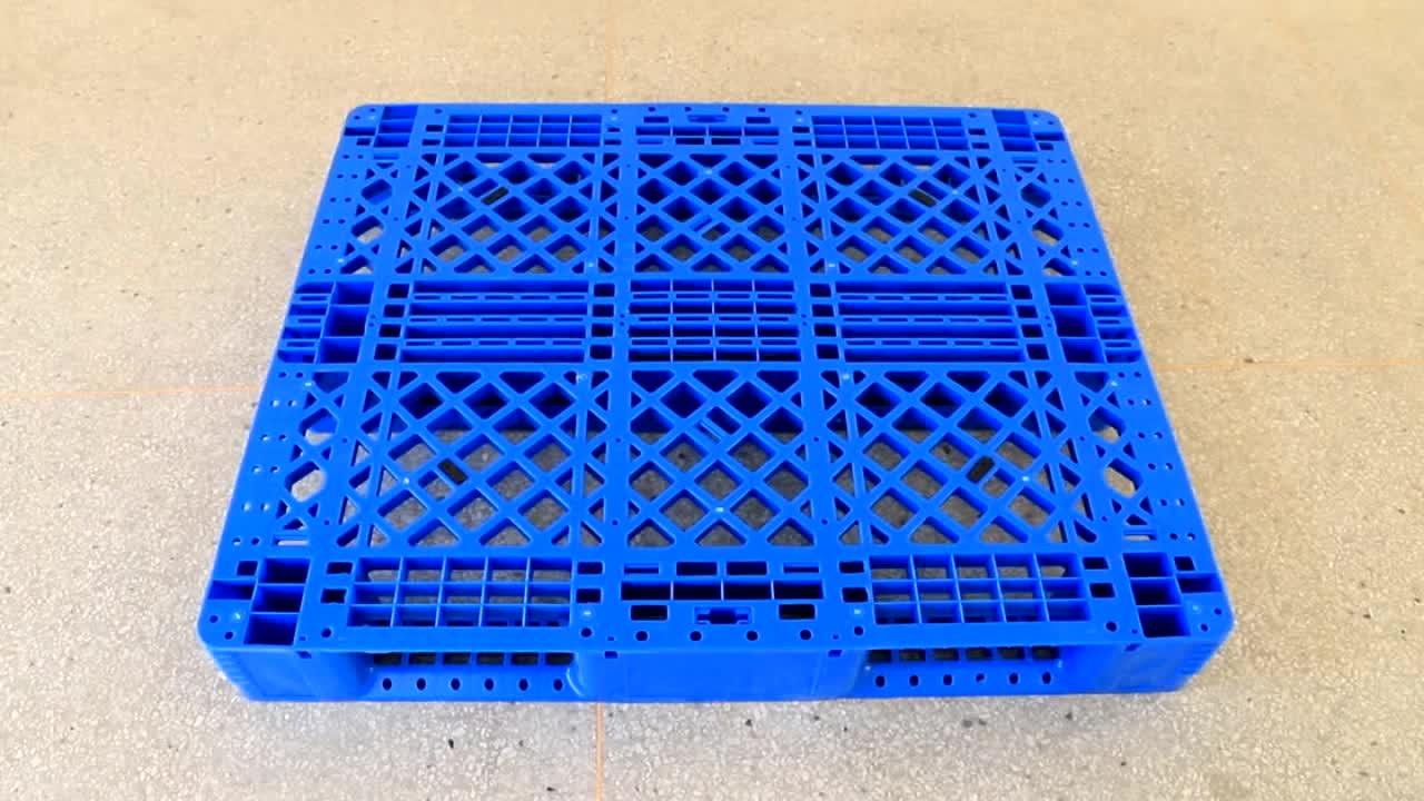 Hdpe Heavy Duty Steel Reinforced logistic Euro Plastic Pallet