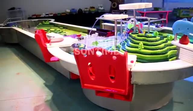 Science center water table for kids for children's game center
