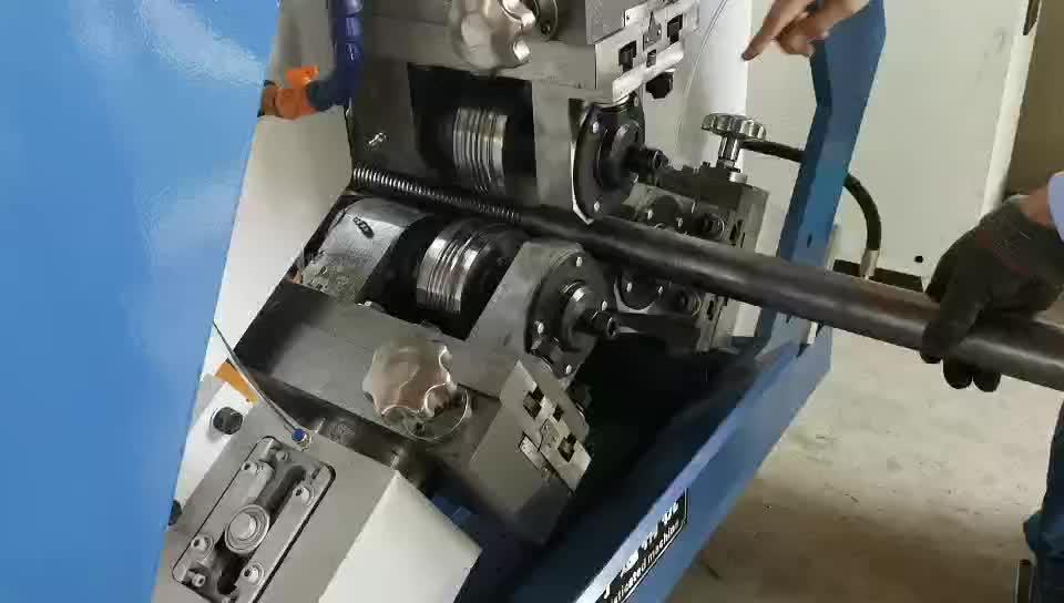 Barra de acero máquina de laminación de hilo tornillo máquina de fabricación de barras de refuerzo de máquina de laminación de hilo
