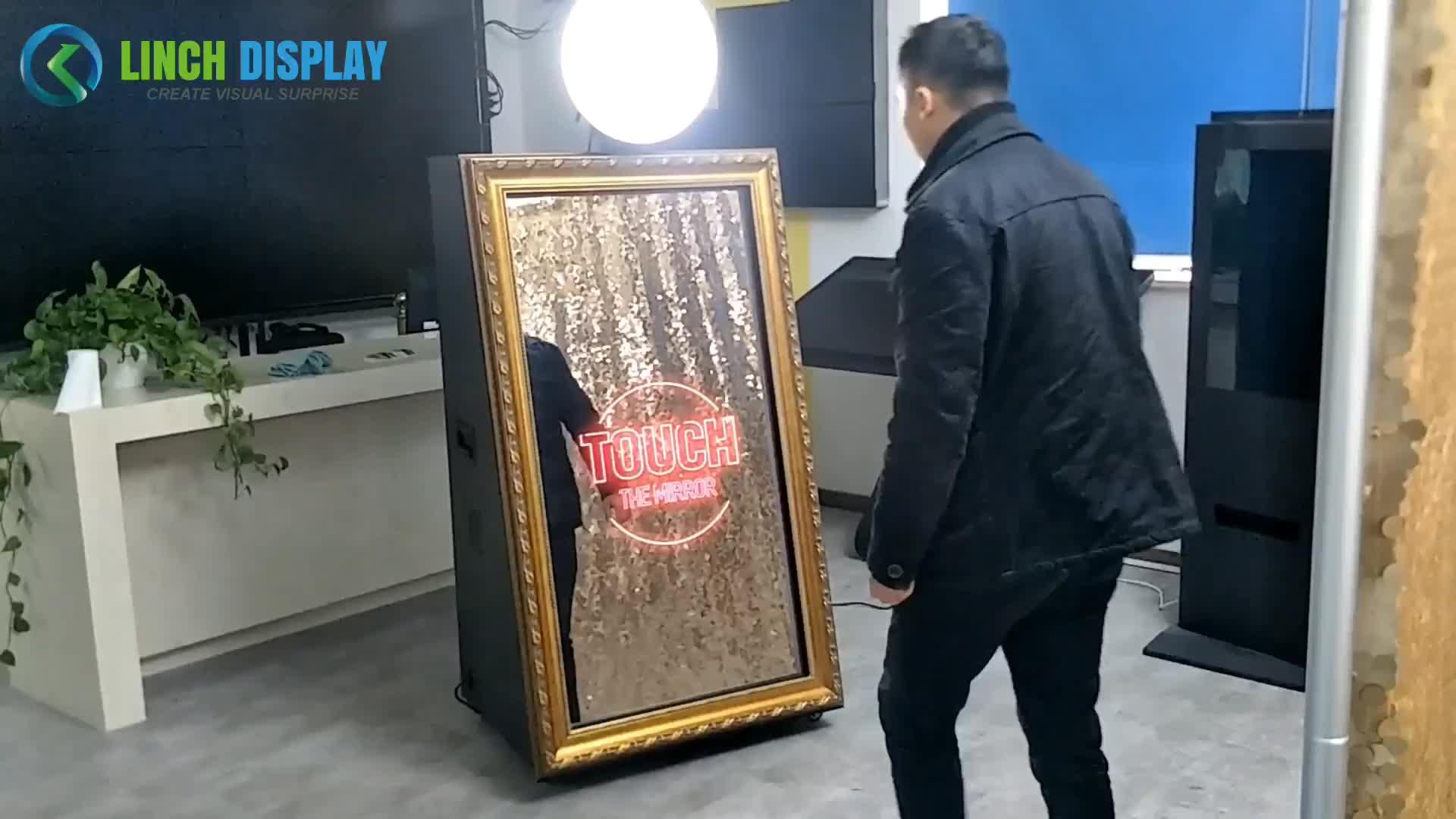 Competitivo Preço de Fábrica Tela de Toque Selfie Espelho Mágico Photo Booth