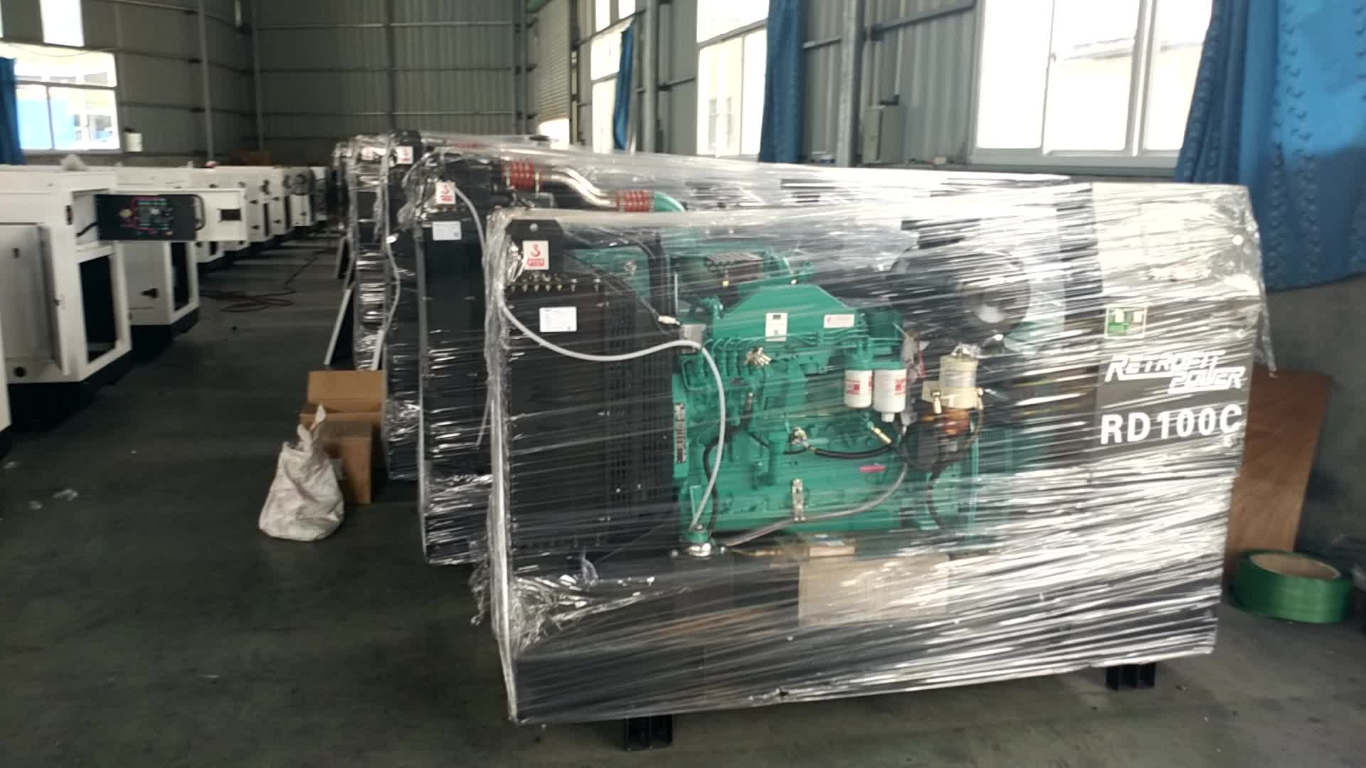 Open Type Heavy Duty 40kw Diesel Generator with CE Certificate