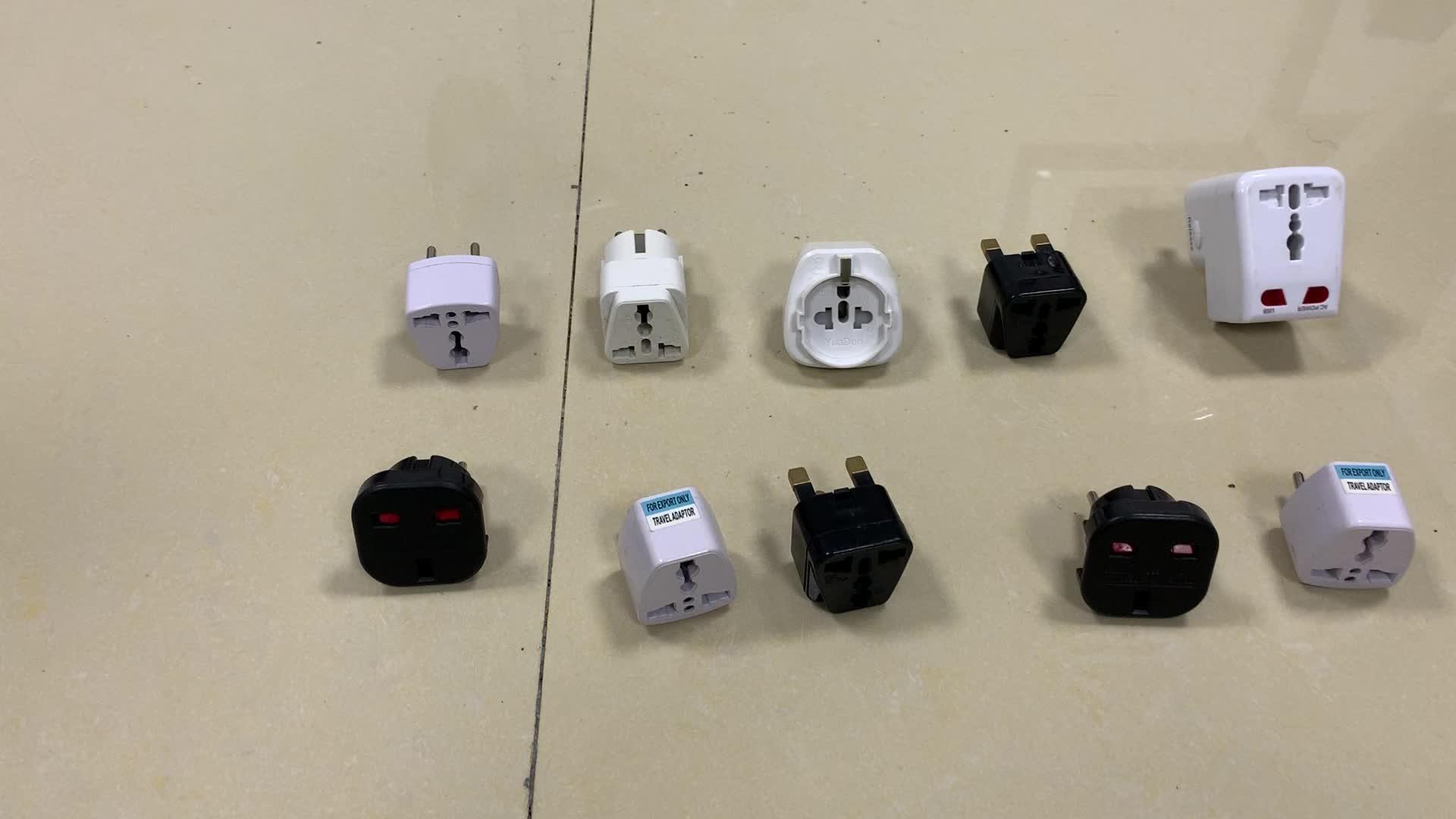 Renkli Seyahat adaptörü, USB ile Çok amaçlı seyahat elektrik adaptörleri, usb adaptörü