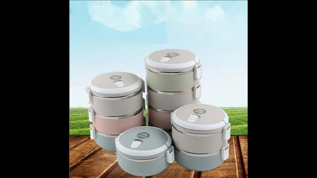 Insulated lunch box stainless steel