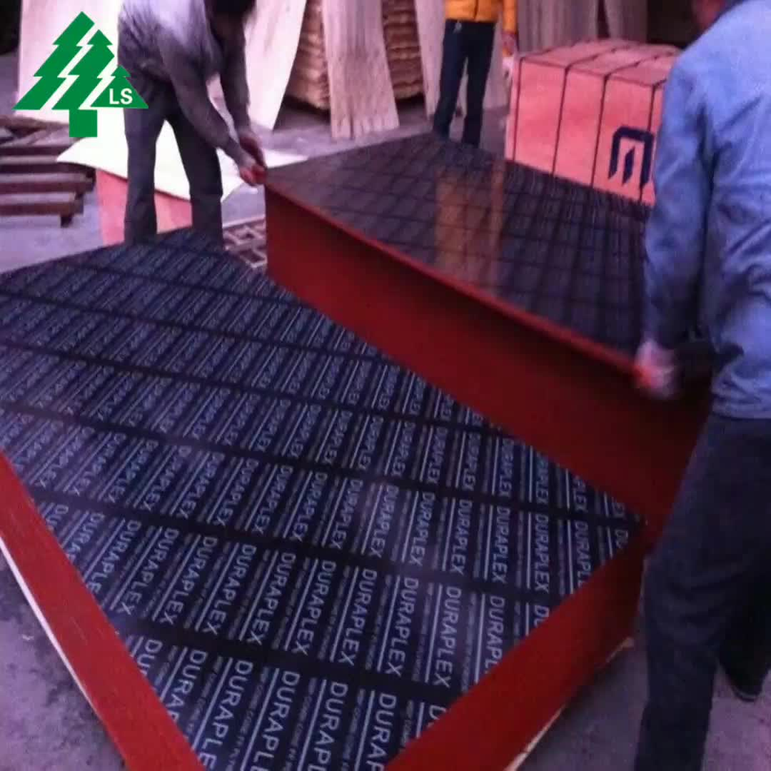 9mm 10mm phenolic film faced plywood panel , Marine plywood shuttering board