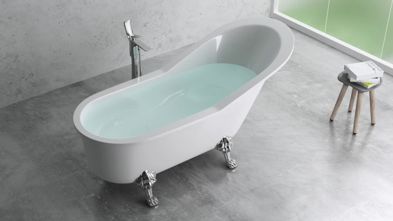 Hot Sale Matt Black Solid Surface Bathtub,Resin Stone Freestanding Bath Tub