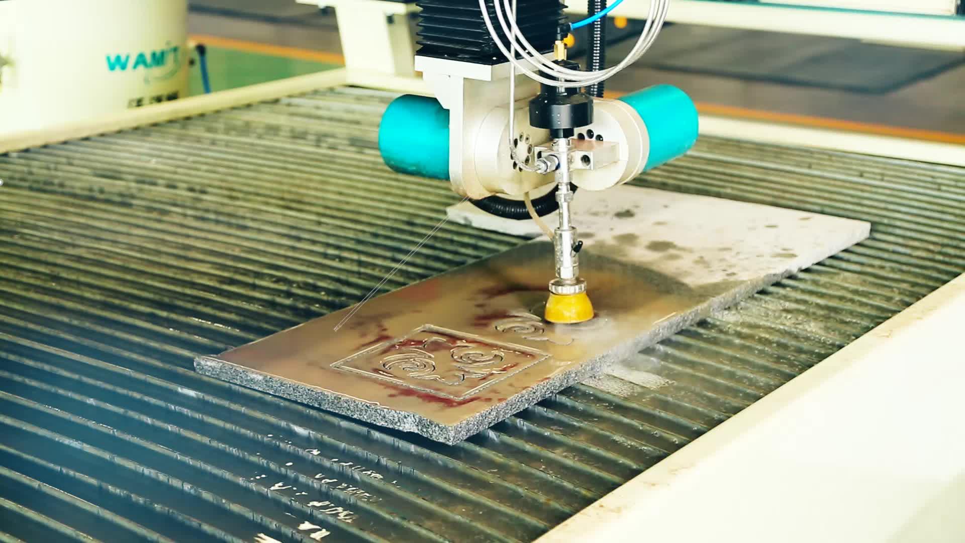 factory price Marble mosaic waterjet cutting machine