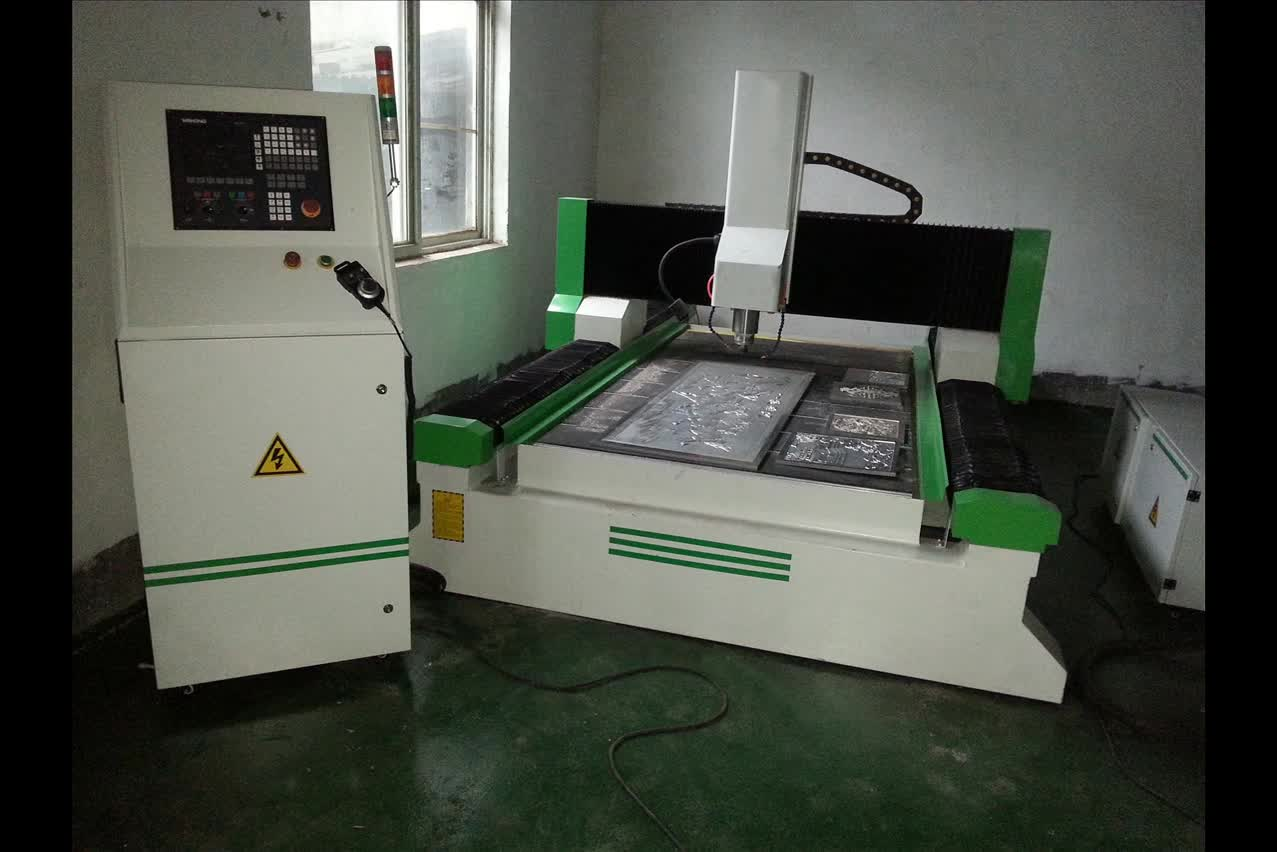 CNC router machine for steel aluminum 4 axis atc machine