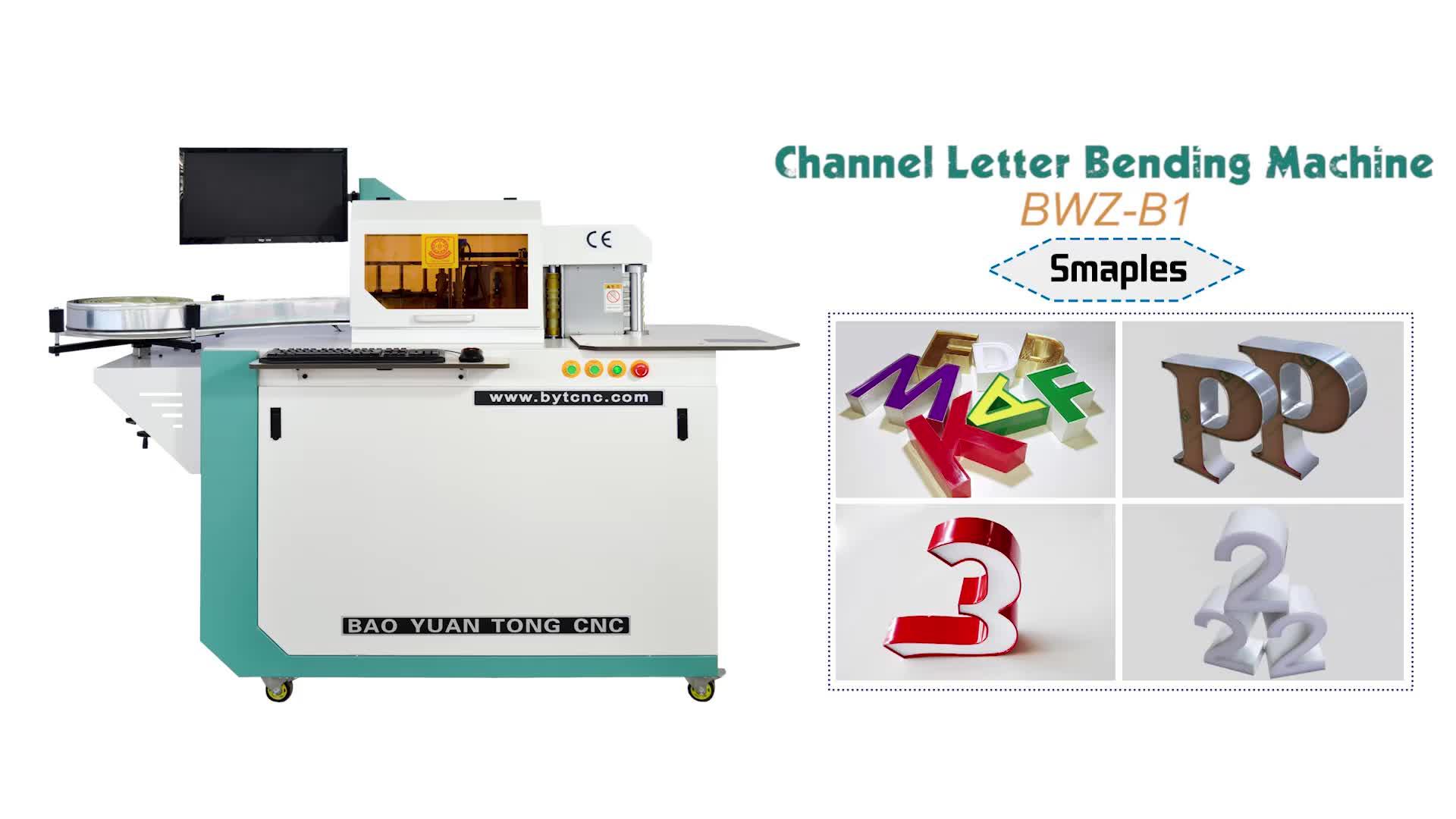 Canal carta Bending Machine Fazendo Acrílico rosto notching bending carta de alocação de corte que faz a máquina preço para o alumínio