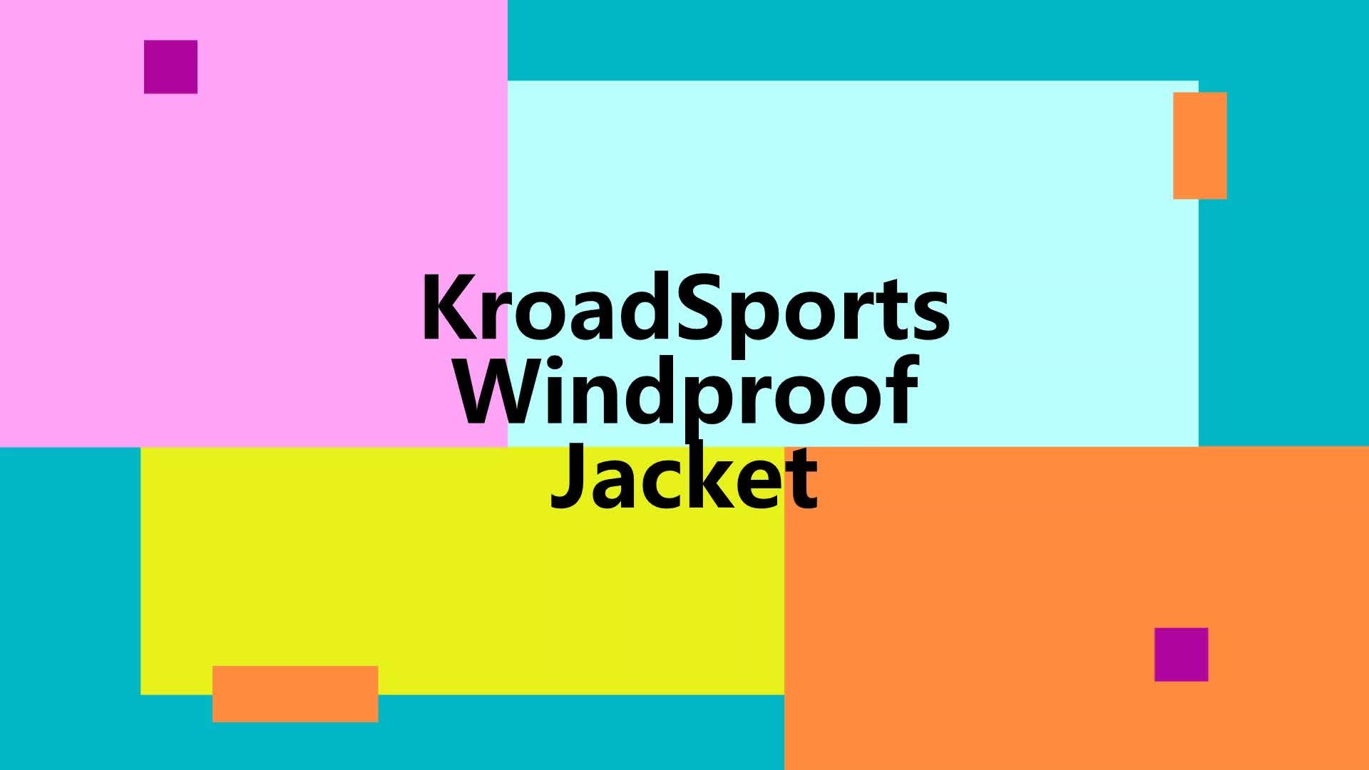 2019 KCOA Toptan UV Geçirmez Su Geçirmez Kadın ve Erkek rüzgar geçirmez ceket