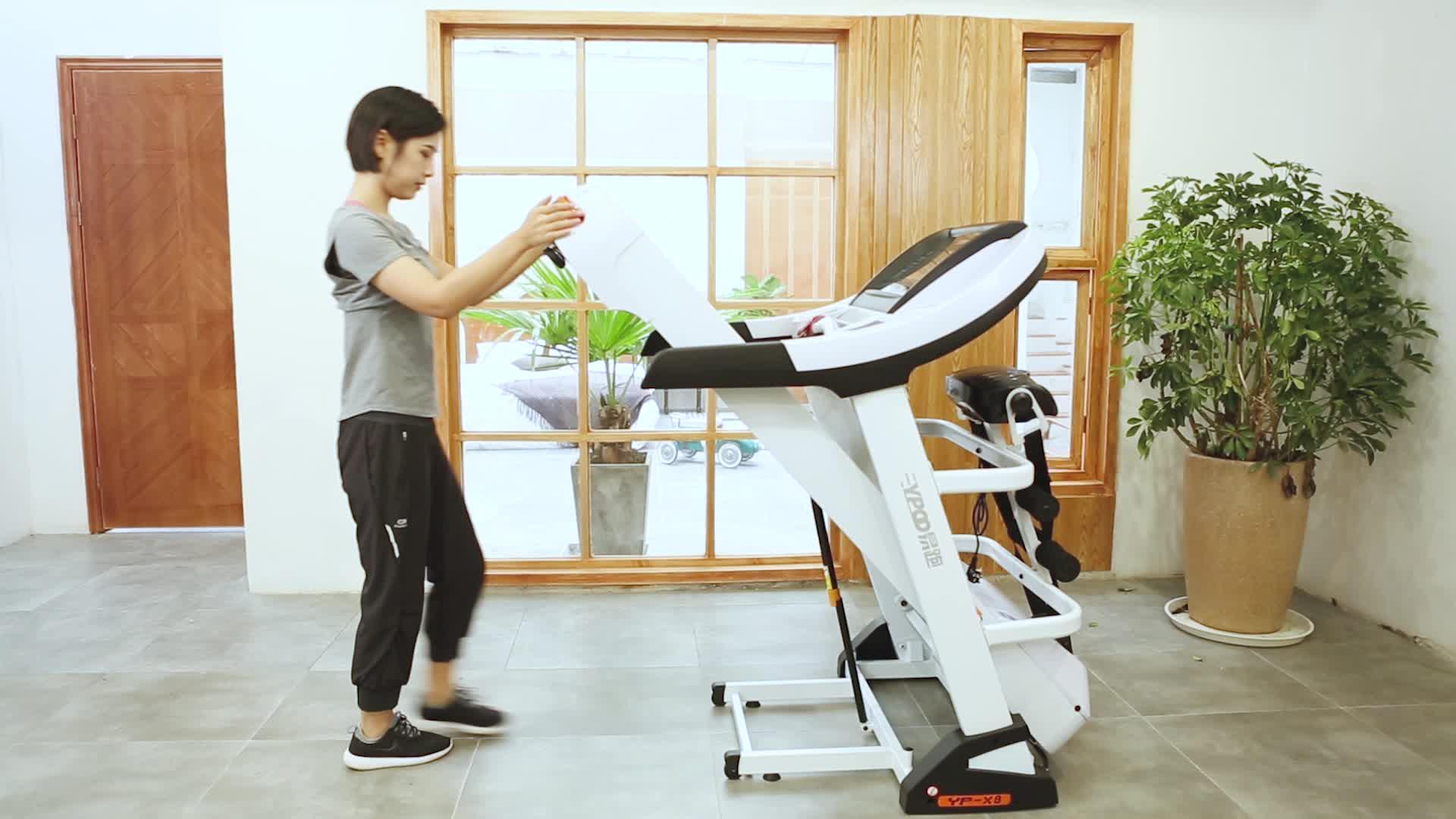 저렴한 가격 큰 스크린 가정용 체육관 운동 러닝 머신 러닝 머신 스포츠 동력 디딜 방아