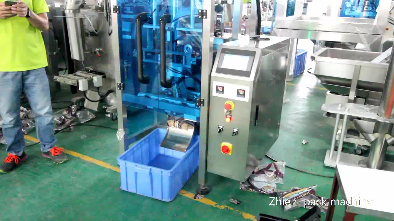 Coffee Bean Granule Packing Machine with Degassing Valve Applicator