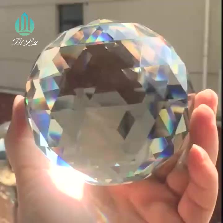 Optical Glass triangular prism for reflecting and refraction