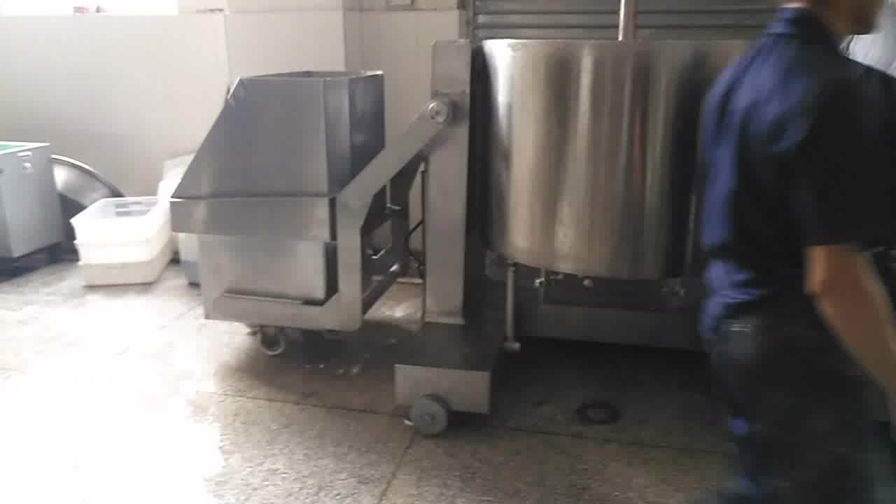 Hot sell Industrial Full automatic fish meat beater machine