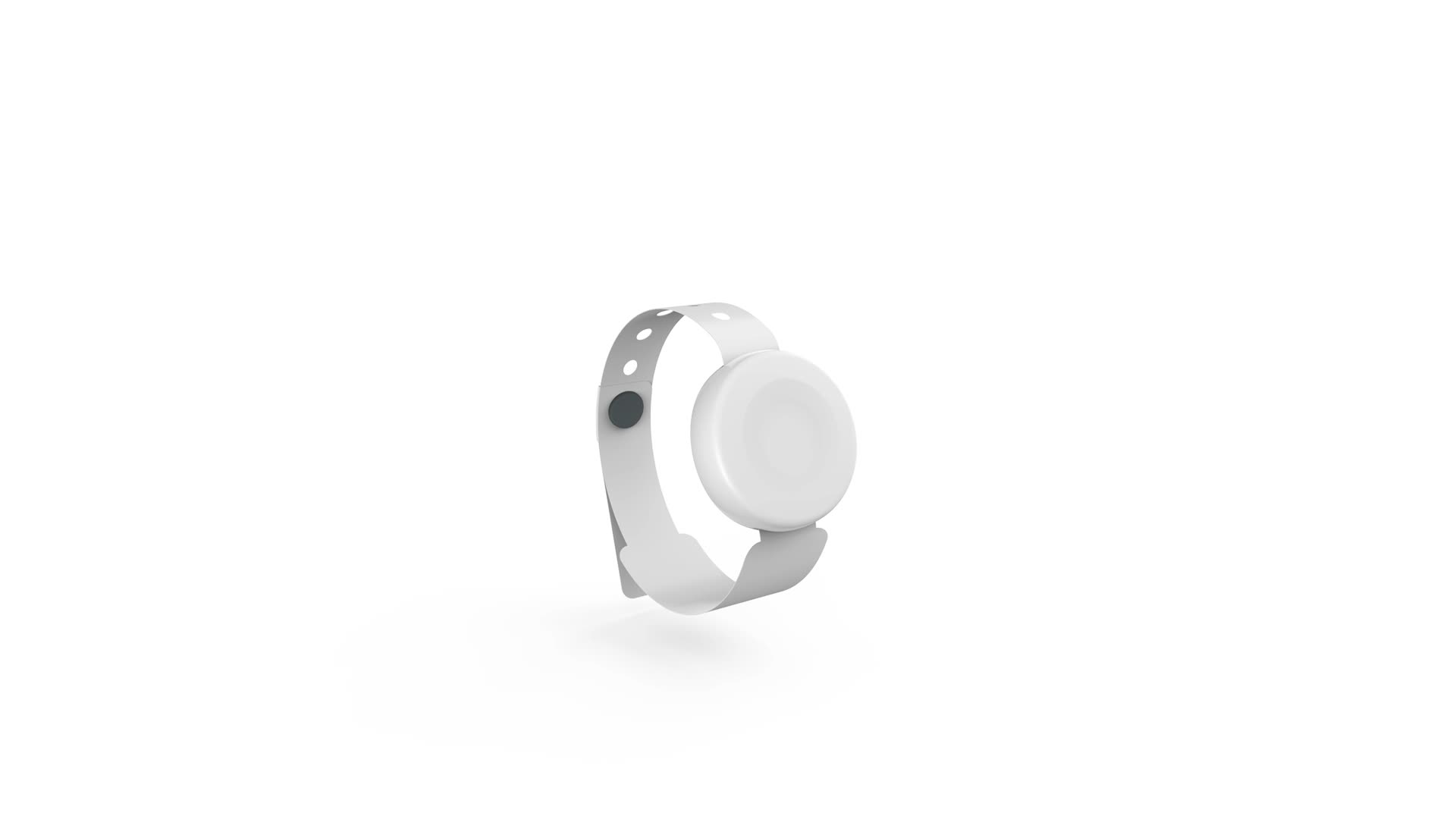 waterproof durable small ble bluetooth person tracking ibeacon nrf52840 smart band with button beacon
