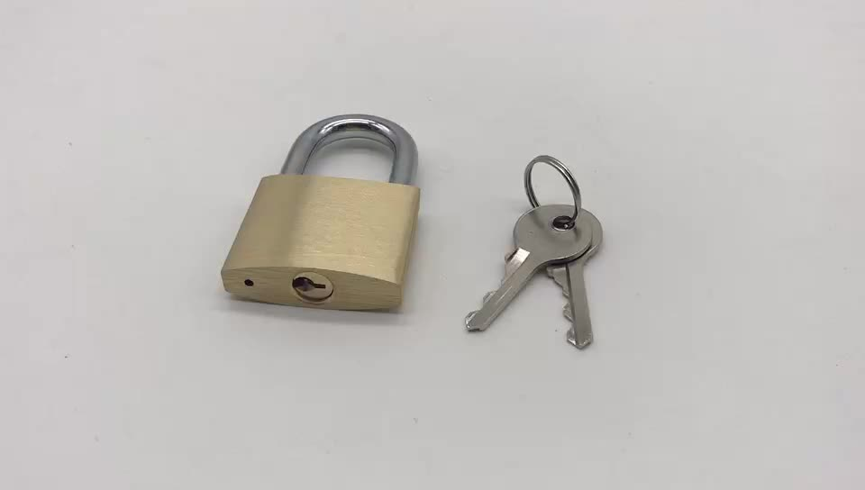 Sample available cheap price safety pad lock & brass padlock