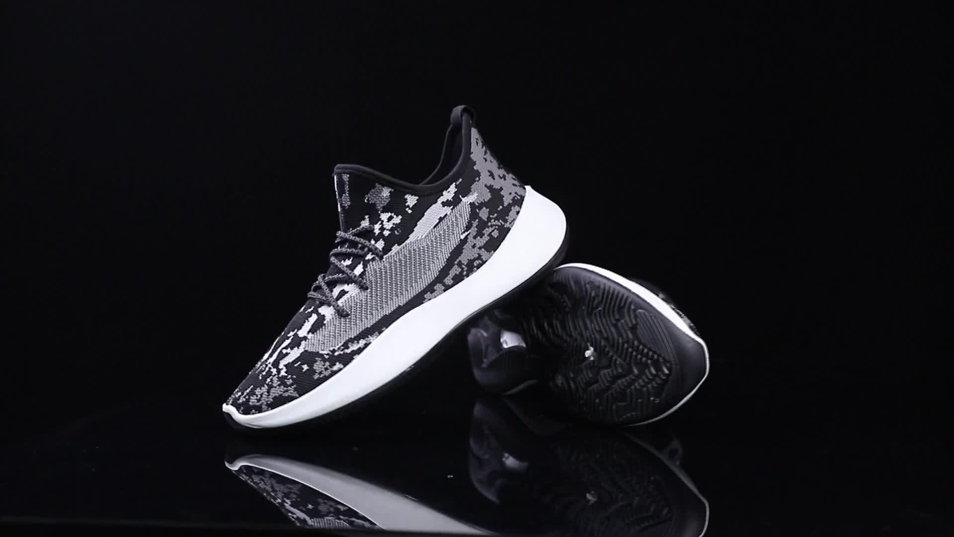 Custom mens sports fashion sneakers breathable running shoes