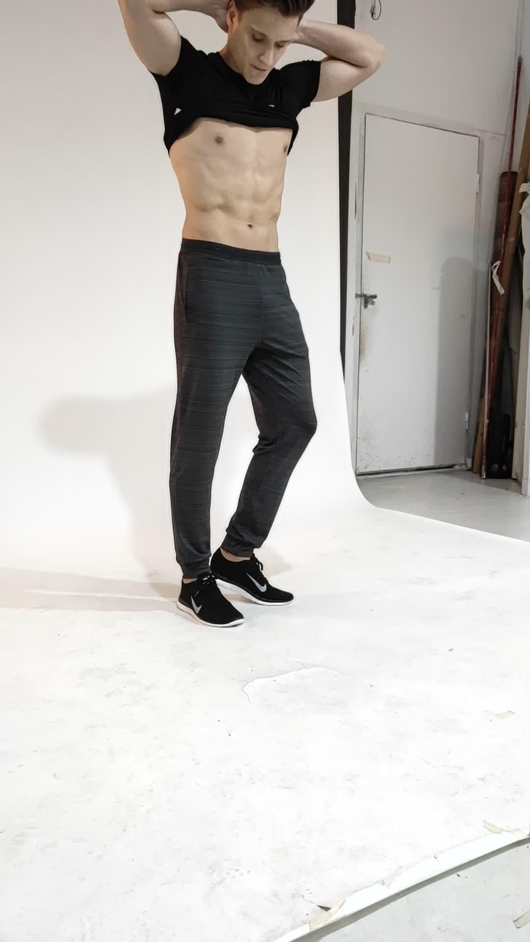 LIEXING produttore jogging uomo quick dry sport usura di usura in esecuzione pantaloni di formazione vicino pantaloni della tuta gamba