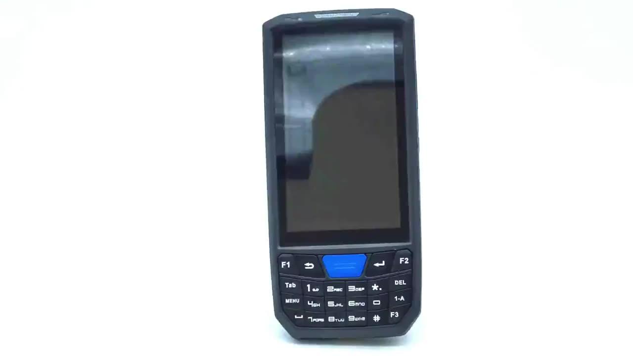Industrieller Android Handheld 4G drahtloser mobiler QR-Code PDA für Inventar