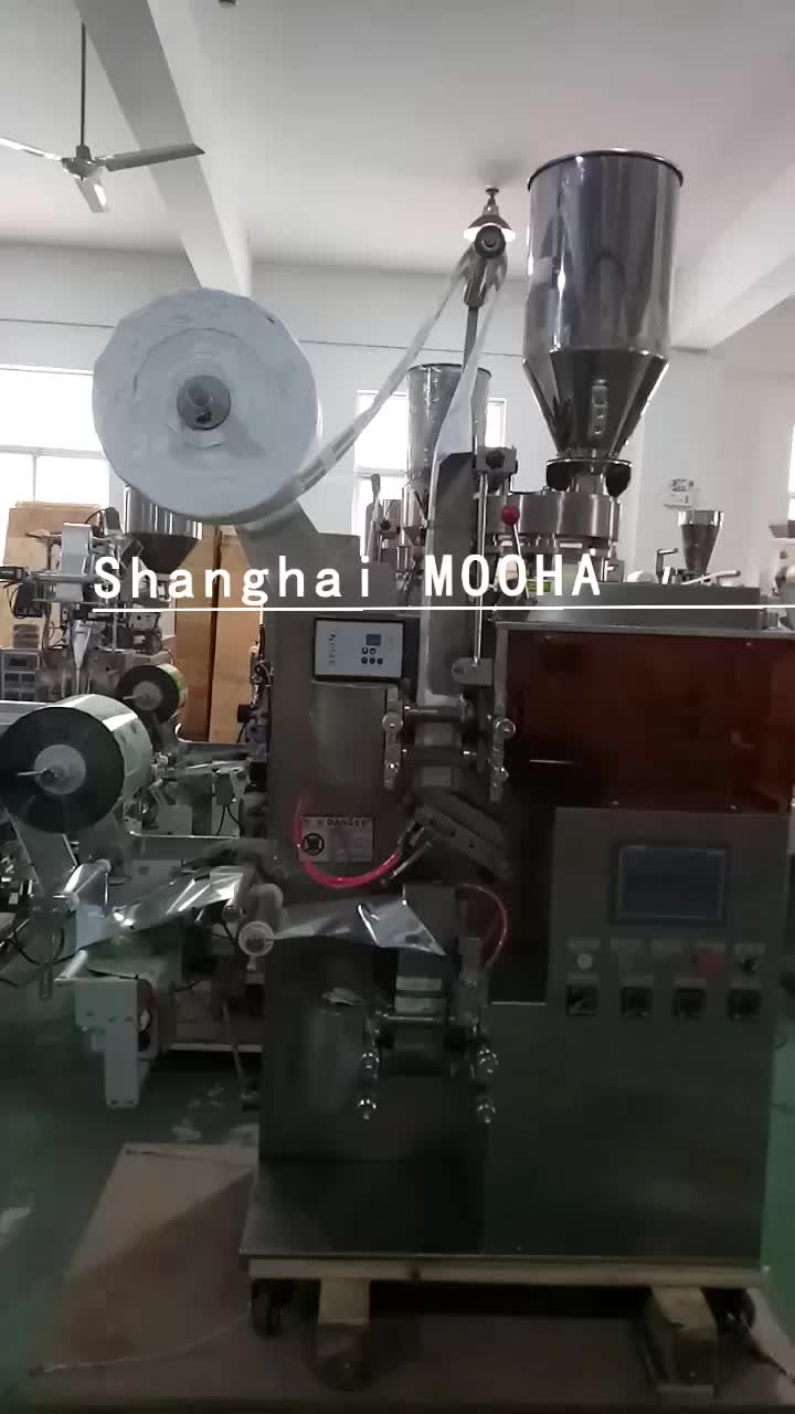 Industrial Drip Coffee Tea Sets Inner & Outer Packing Machine Full Automatic Granular Powder Drinks Filler Herbage Packer