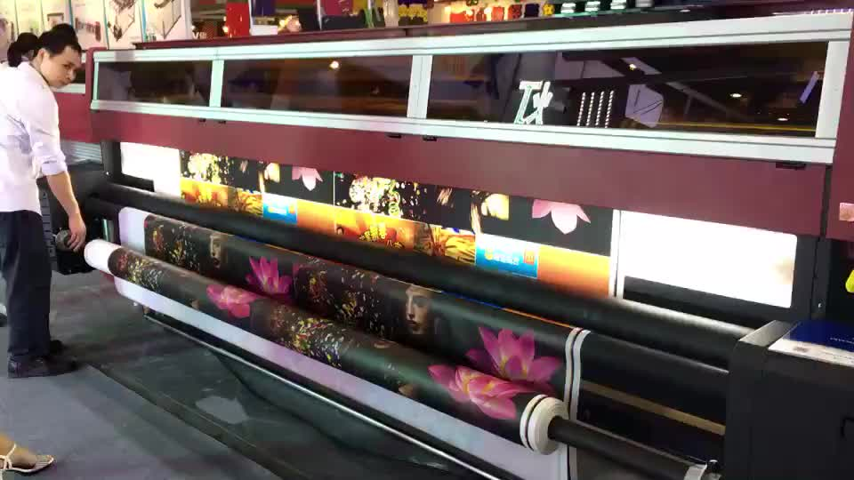 3.2m Roll to Roll Uv Large Format Printer for Vinyl Banner Decoration Inkjet Machine