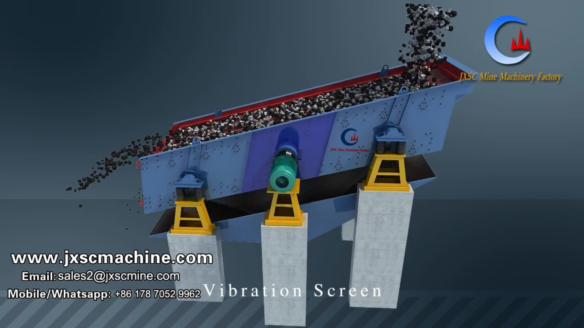 대용량 마이닝 진동 체질 장비 분리기 체 필리핀 자갈 모래 진동체 스크린