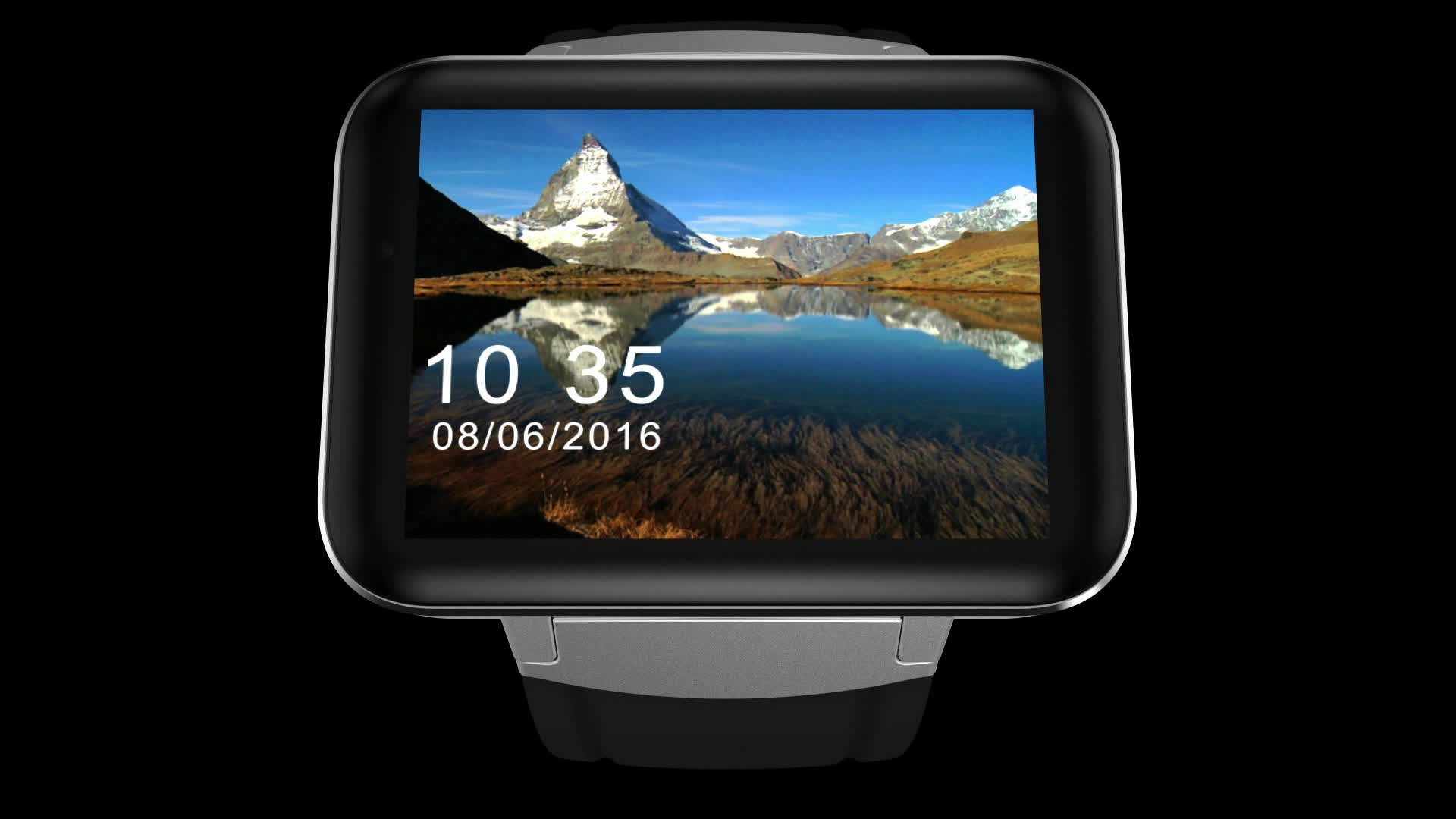 ODM Customize 3G GPS WIFI NFC RFID Programmable Android Smart Watch Mobile Phone