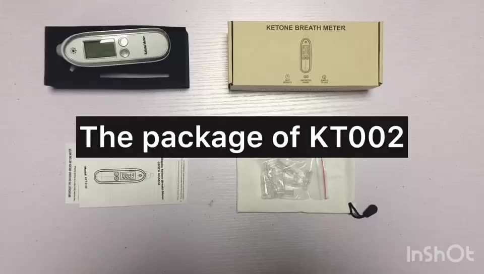 Cost Effective Ketone Meter with 10 Reusable Mouthpieces