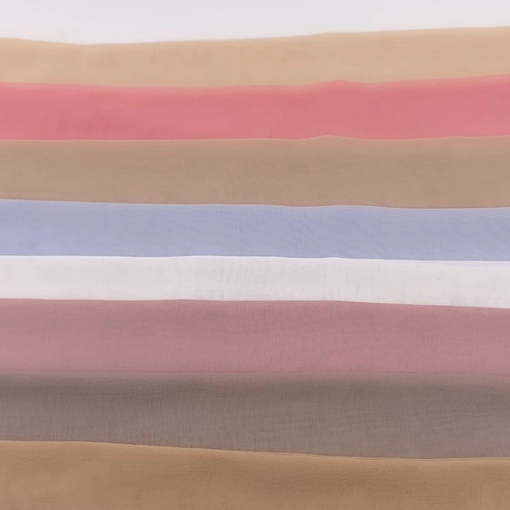 High Quality japan voile square scarf for malaysia market