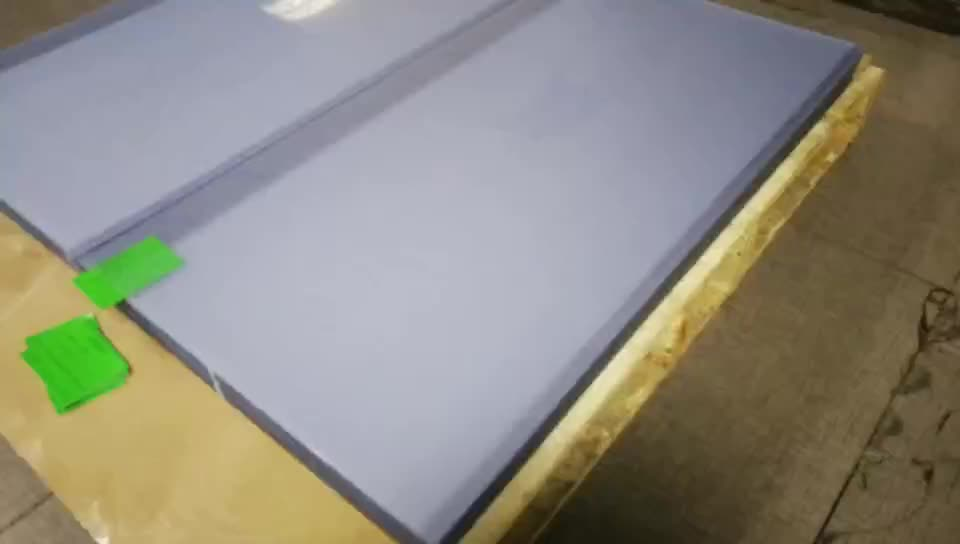 A4 Transparent 0.18mm Hard Plastic PVC Sheet For Binding Cover