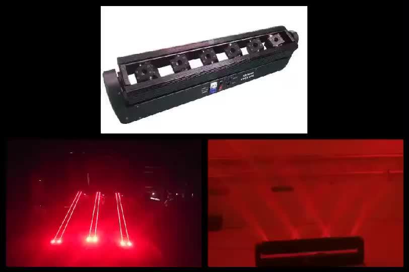 8 đầu di chuyển đầu ánh sáng laser tám tia laser hiệu ứng mưa laser chùm ánh sáng cho sân khấu