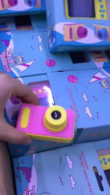 ミニデジタルカメラ 2 インチ子供漫画かわいいカメラおもちゃ子供誕生日ギフト 1080 1080P 幼児のおもちゃカメラ