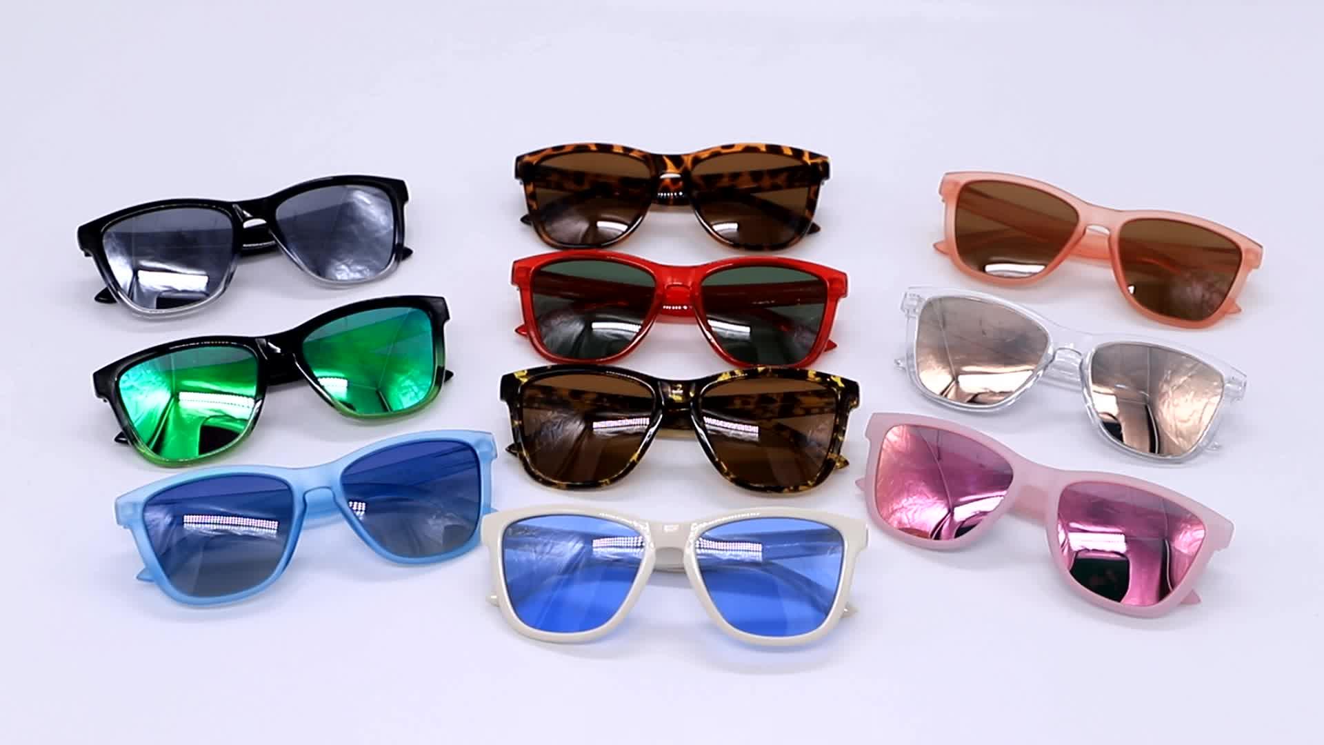 2020 New Arrivals Fashion Colorful Shades Sunglasses Womens With Cheap Polarized Lens Remove Leg Sun Glasses
