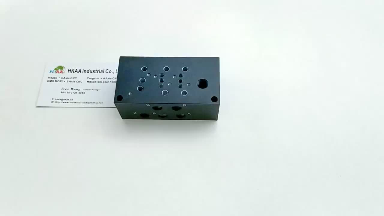 Manifold Block for CETOP 3 Valves with Side Ports