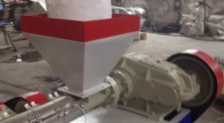 single screw small scale high speed PP strapping band making machine