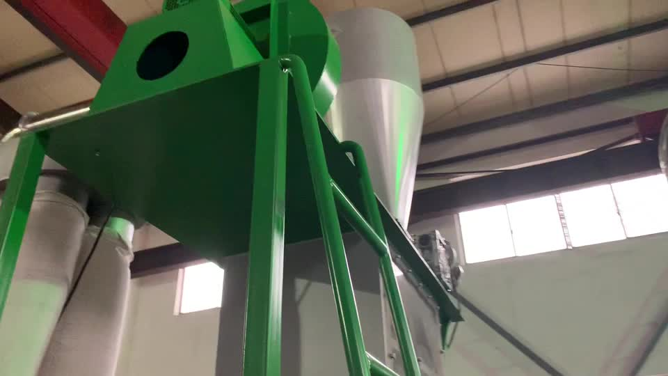 Kooen廃ペットペットボトル/フレーク洗濯/リサイクルライン/マシン/植物