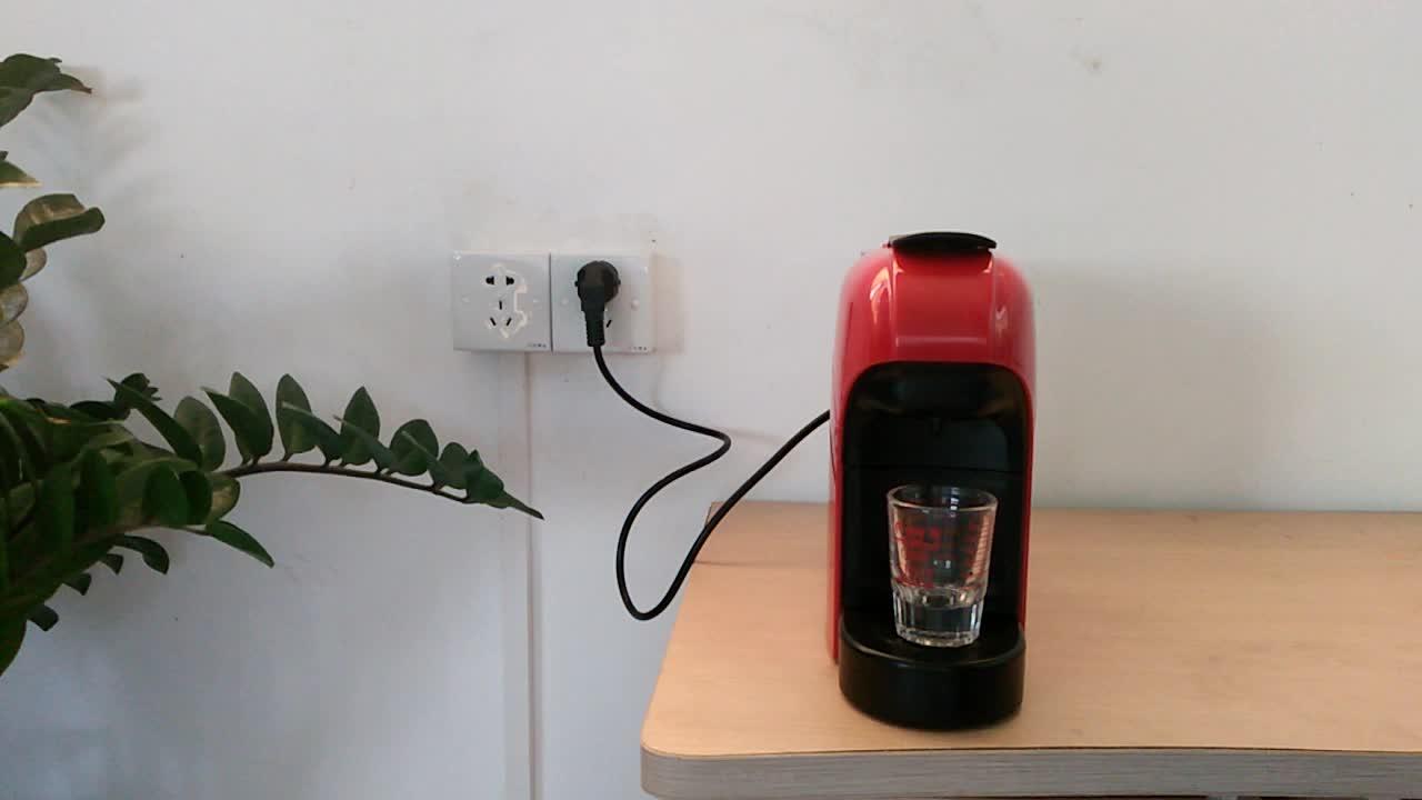 ファッショナブルなデザインホット販売イタリア20バーポンププロフェッショナルエスプレッソカプセルコーヒーマシンメーカー