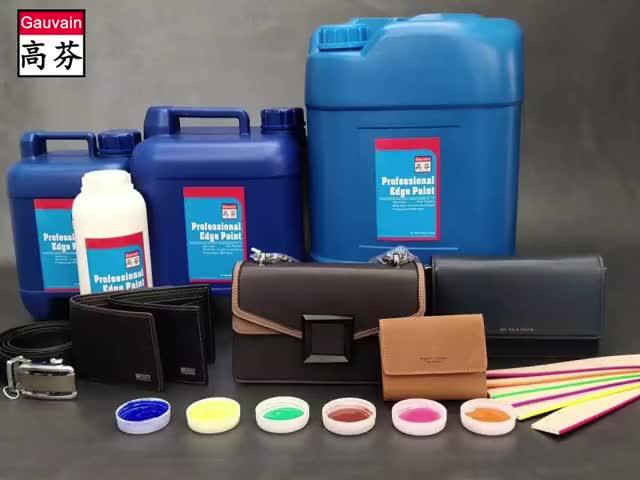 Profesional de cine la base de agua colorante que se utiliza para Borde de cuero