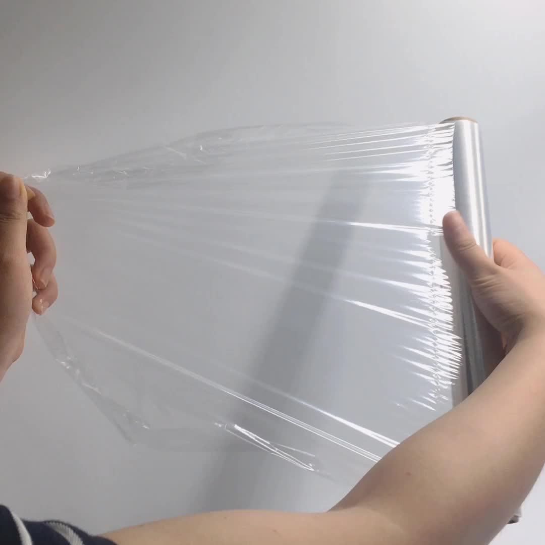 Биоразлагаемые прозрачный стретч-пленка для упаковки PLA пищевая упаковочная пленка для упаковки