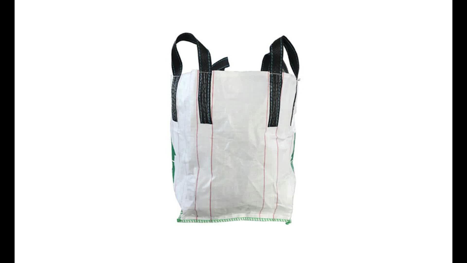 1 Ton Meststof Tas Polypropyleen Big Bags 1000Kg Cement Sling Bag