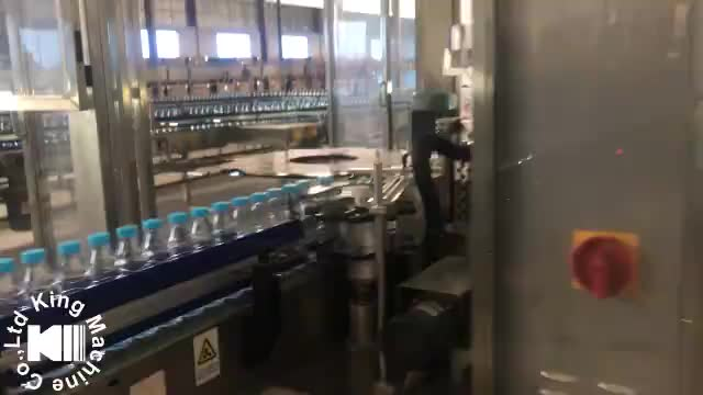 High Speed Automatic Round Paint Can Labeling Machine King Machine