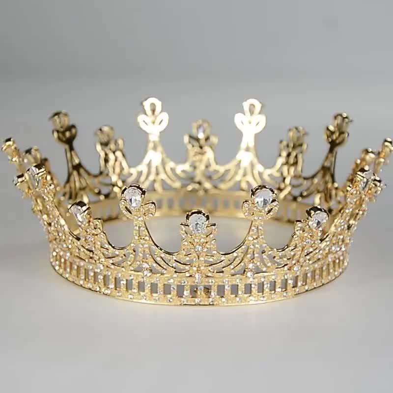 New sapphire tiara bridal crown big amazing crown bridal wedding tiaras