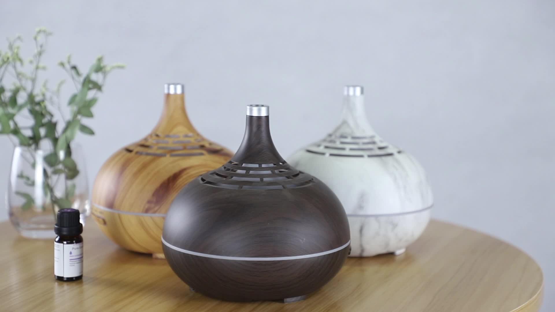 अमेज़न सर्वश्रेष्ठ बेच 400ML घरेलू जीवन शैली वाईफ़ाई विसारक अल्ट्रासोनिक हवा खुशबू विसारक Aromatherapy Humidifiers