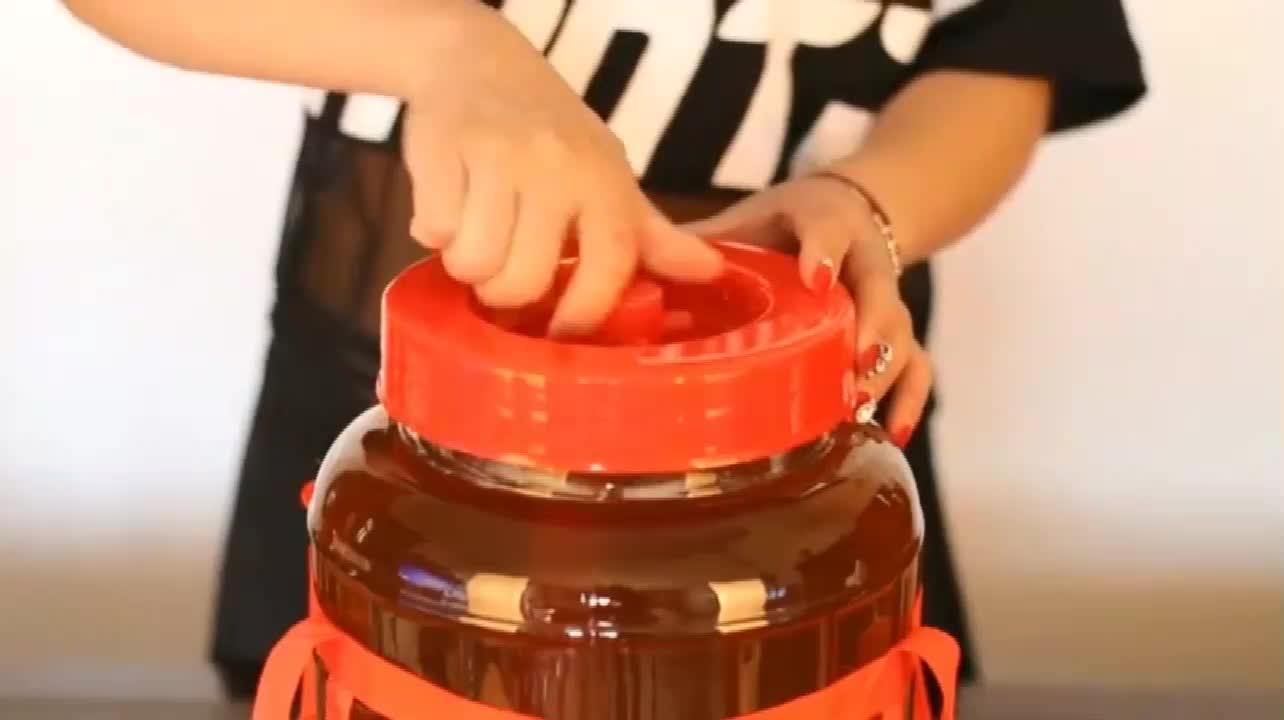 Sigillato bottiglia di vetro bocca larga carboy 30L fermentatore homebrew beer & sottaceto e vinificazione bottiglia di immagazzinaggio di vetro/vaso di vetro mason jar