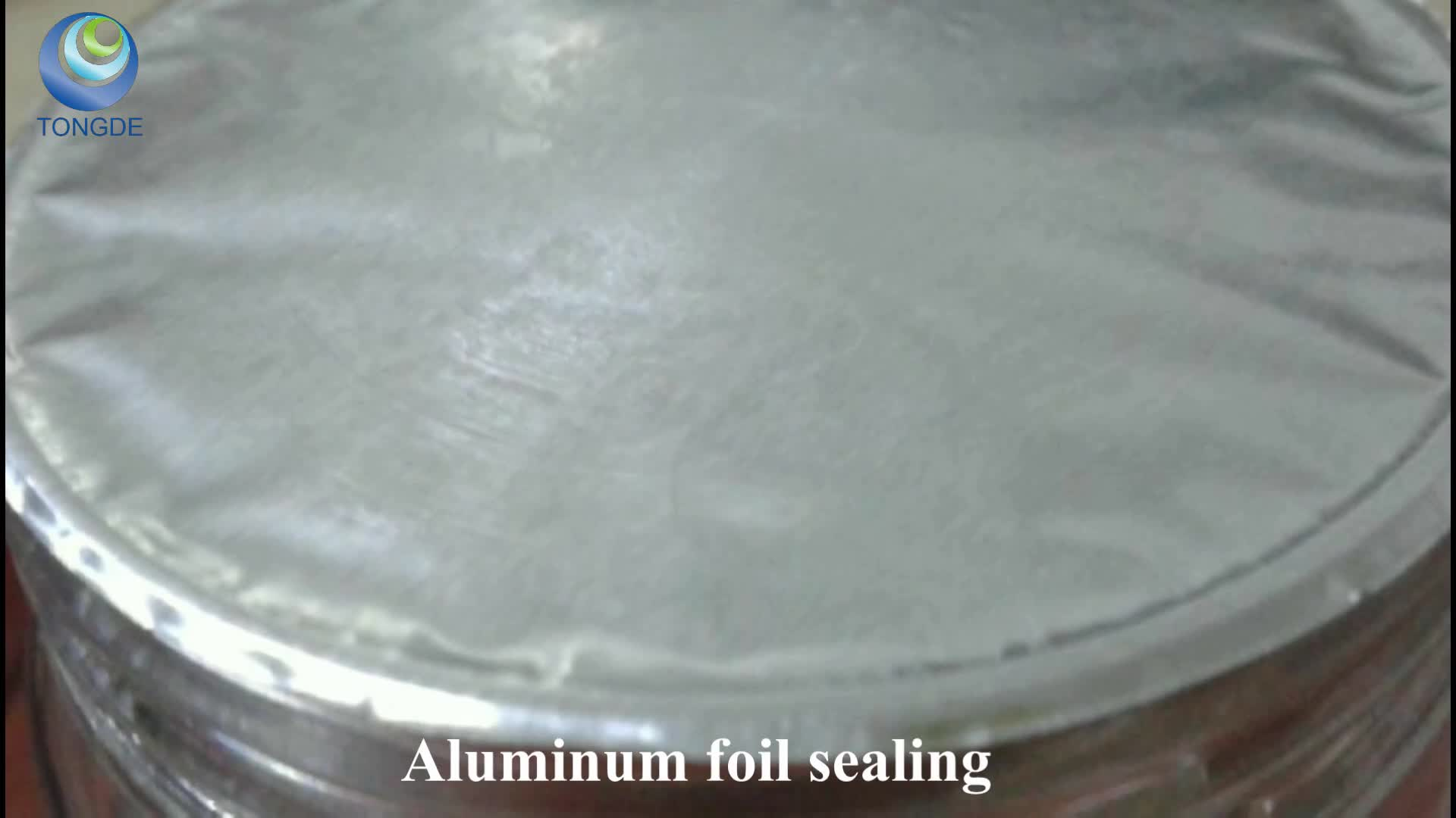 Aluminum foil seal hot melt glue adhesive bond foil to paper board