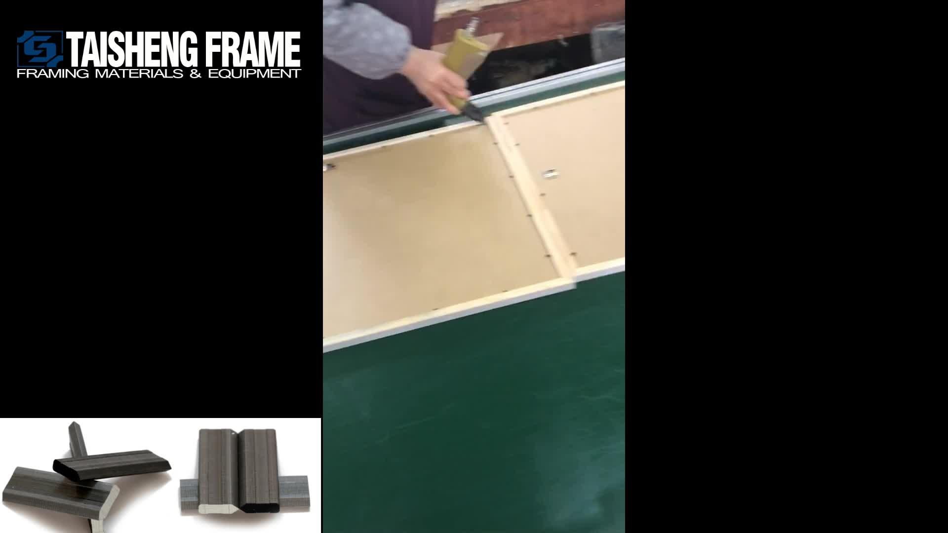 Pointes Flexibles Hitam 10000 Pcs/box Bingkai Kuku Flexi Pin Taisheng Framing Perlengkapan