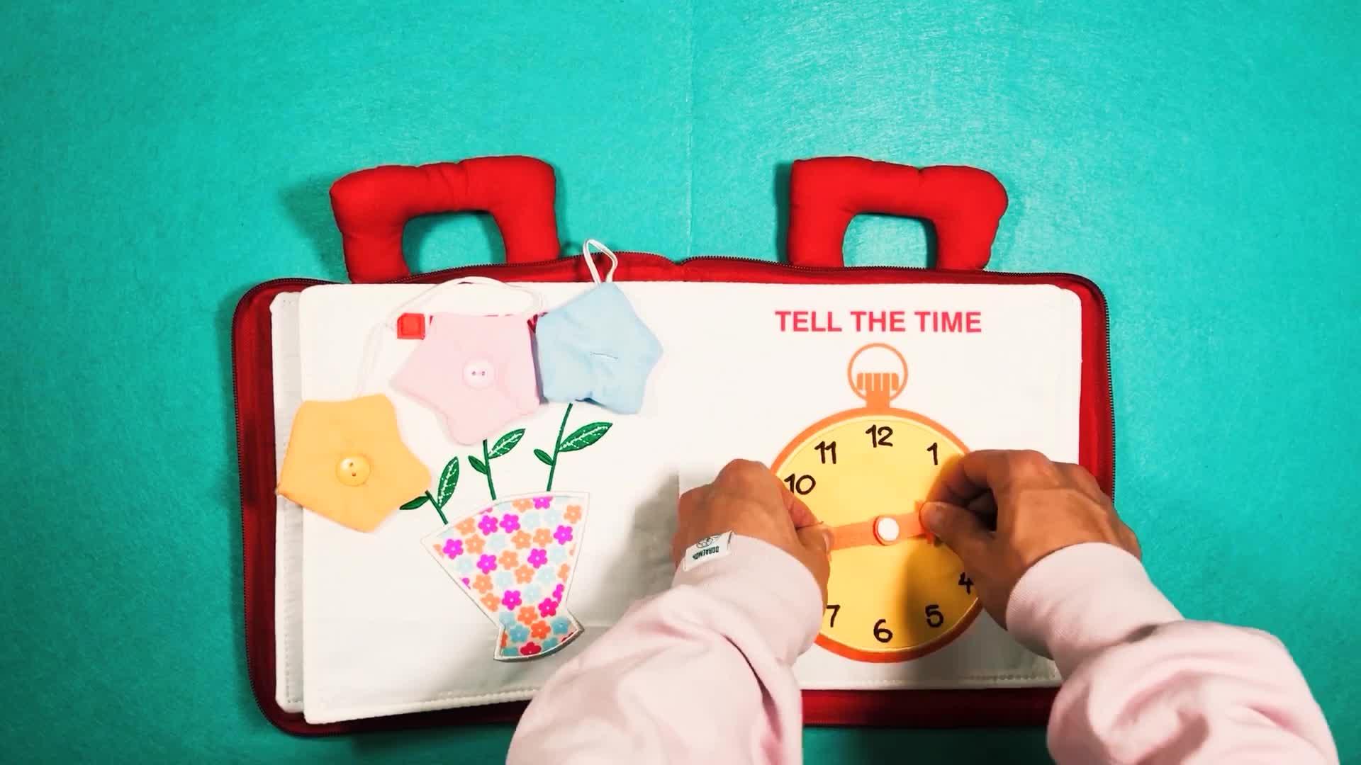 كتاب أطفال جديد ناعم أول كتاب كتب قماشية التعليم المبكر كتاب هادئ